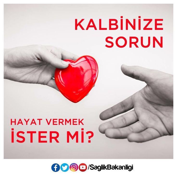 Organ bağışı yeni filizlenen bir hayat demektir. Kalbinize sorun, hayat vermek ister mi