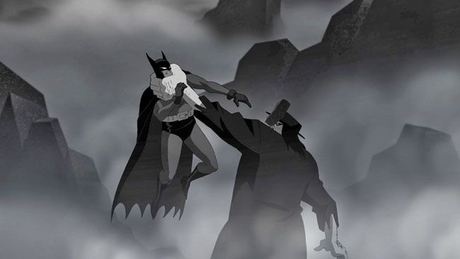 Bruce Timm has completed a new short entitled Batman: Strange Days which will premiere on Cartoon Network next Wednesday, April 9th, following an episode of Teen Titans Go! (6:30pm ET/5:30pm CT). The monochromatic piece, which was created as part of this year's 75th anniversary Batman celebration, pits Batman against Dr. Hugo Strange, a classic Detective Comics villain who predates the Joker and Catwoman.