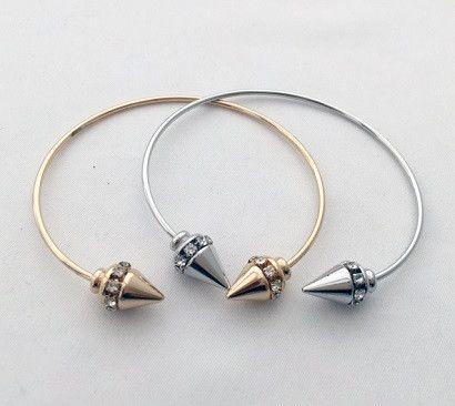 Cubic Spike Bracelet
