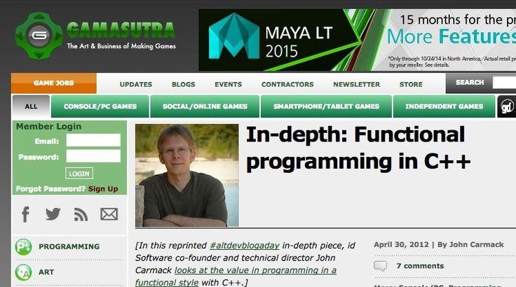 Indepth Functional programming in C++ Independent
