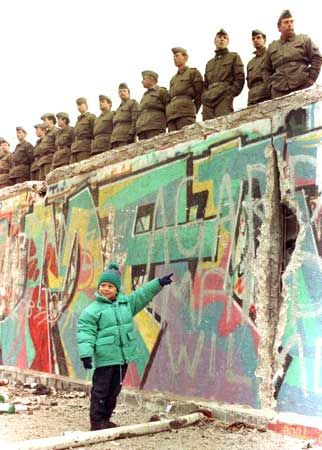 Berlin Wall towards the end
