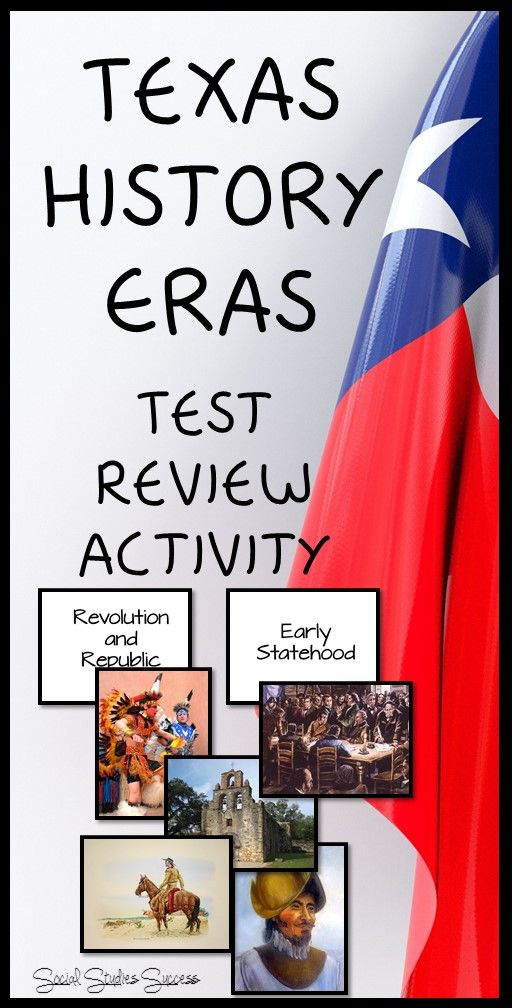 texas history final exam review 7th grade