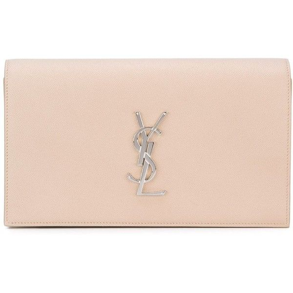 yves saint laurent cabas chyc tote - Saint Laurent 'Monogram' clutch (1,645 NZD) ? liked on Polyvore ...