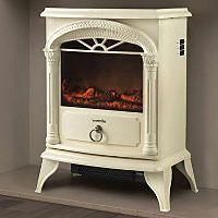 Warmlite WL46012R 1800W Electric Stove Fire - Cream | Fires | ASDA direct