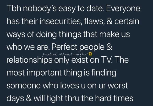 I Love This Because Everyone Would Be Saying How Our Relationship Ain T Perfect Of Course It S Not But Then Again N Perfection Quotes Tweet Quotes Relationship