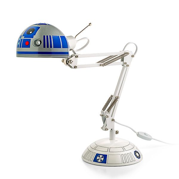 Now, with this R2-D2 Architectural Desk Lamp, Artoo can be at your side to help you out when you need it most.