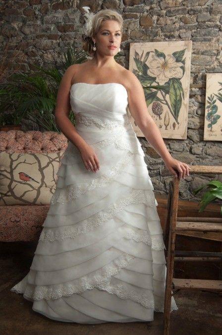 Simple Wishesbridal Plus Size Bridal Wedding Dress