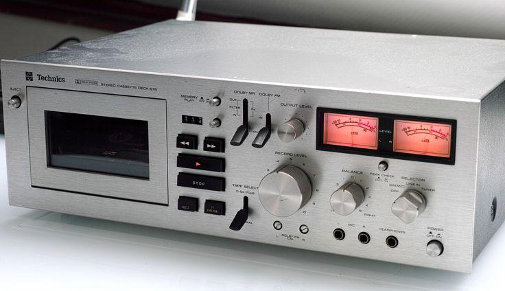 Technics RS-676 Tapedeck | por sophist1cated