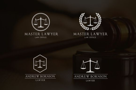 Check out Law Firms Logo by Super Pig Shop on Creative Market, Law logo,law office logo