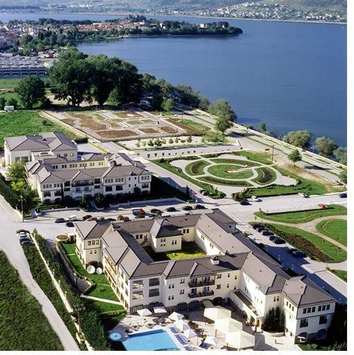 "5 star hotel ""du lac"" / Ioannina - Greece /  interior designer Sissy Raptopoulou"