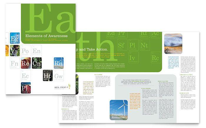 non profit flyer template