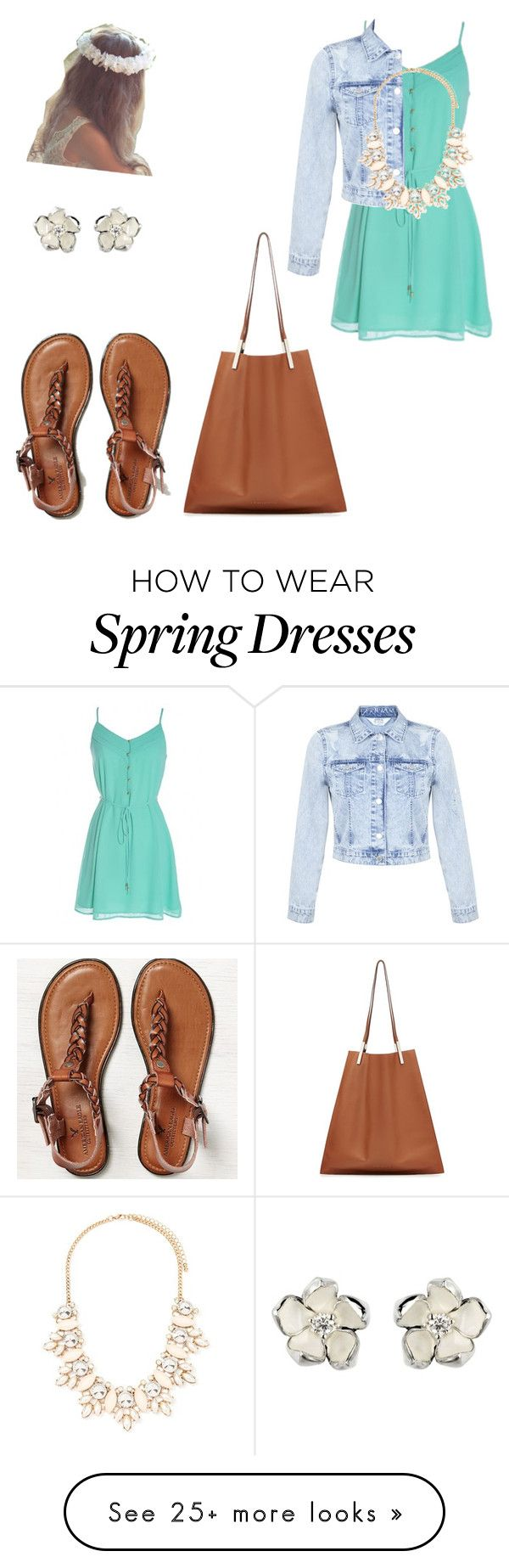 """Happiness is key"" by sarahgarza15 on Polyvore featuring Victoria Beckham, Miss Selfridge, American Eagle Outfitters, Shaun Leane and Forever 21"