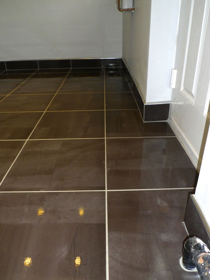 Tiled Skirting Board With Chrome Trim Home Sweet Home