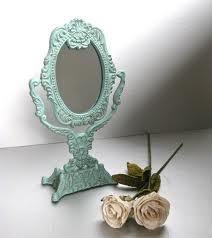 Mint vintage mirror  likes color of mirror