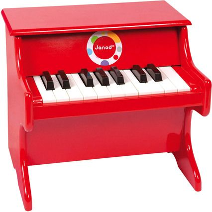 Janod Confetti Klavier rot » Online kaufen bei toys.ch - Große Auswahl an Janod Instrumente ✓ Tolle Preise ✓ Bequem nach Hause geliefert ✓ Versandkostenfrei ab 50 CHF