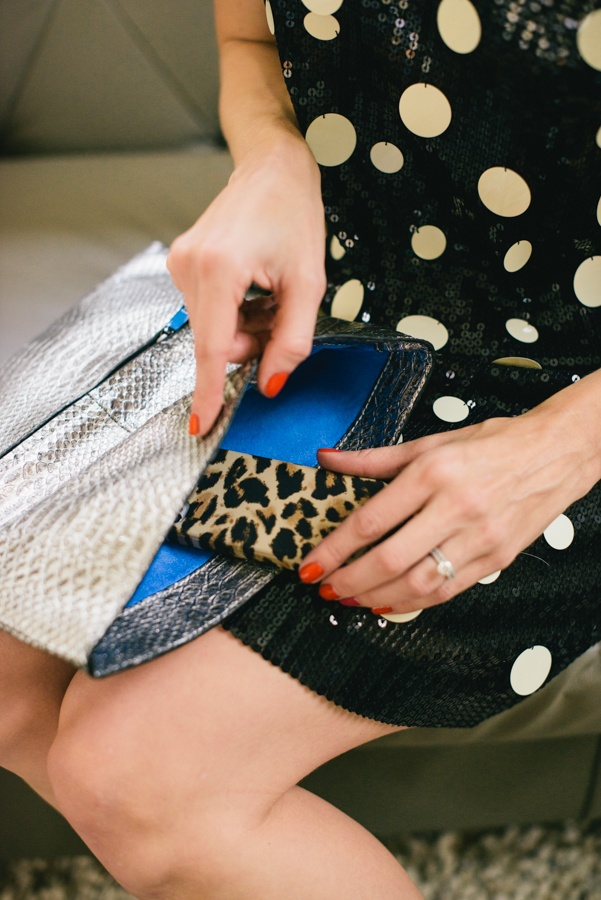Juicy Couture Jade Clutch + Betty Cocktail Clutch #glitterinjuicy #givemewhatIwant (Photo by Delbarr Moradi Photography / delbarrmoradi.com)