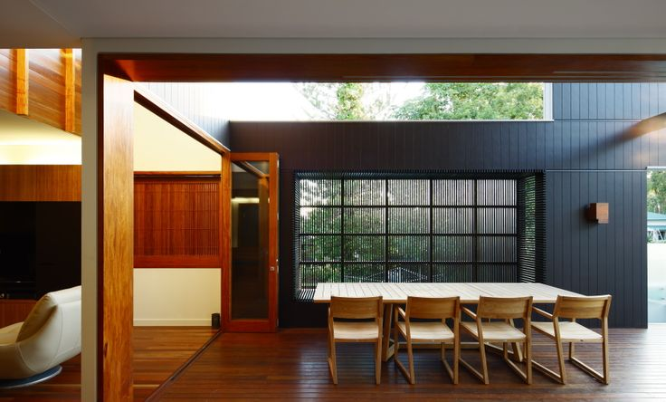 Browne Street House, New Farm Australia by Shaun Lockyer Architects. Built in Seating