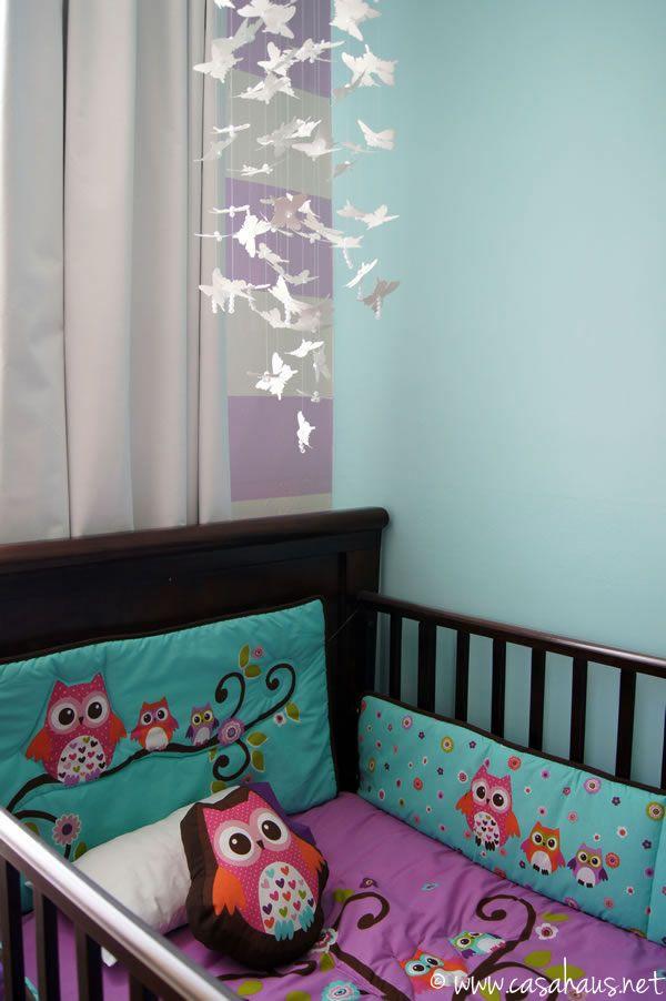 Antes y despu s cuarto para una beb girls so cute and - Cuartos para bebes ...