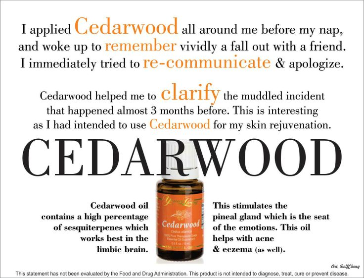 20 best Essential Oil Cedarwood images on Pinterest | Young living ...