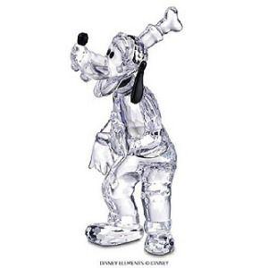 Swarovski Crystal Figurines | Swarovski Crystal Figurine #690716, Disney Goofy, Retired