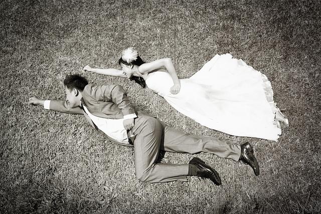 Wedding, Superman, Relationship, love, marriage, fun