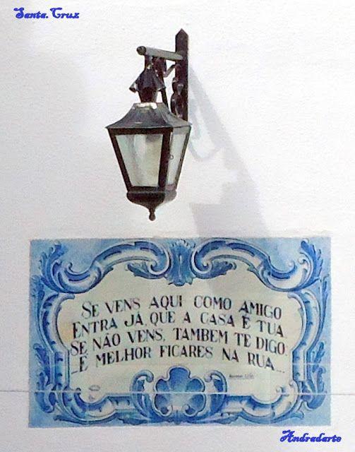 Andradarte: Quadras Populares (Em azulejo)