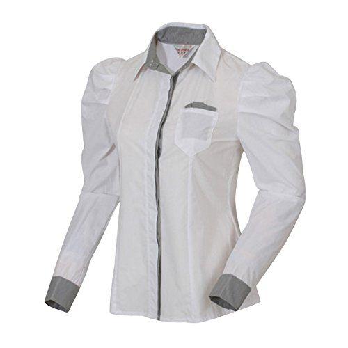 URBANFIND Women's Plaid Patched Slim Button T Shirts