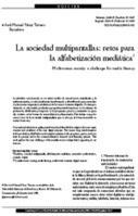 La sociedad multipantallas: retos para la alfabetización mediática / José Manuel PérezTornero