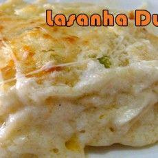 A melhor receita de lasanha bolonhesa com creme de queijo para a fase ataque da dieta dukan.