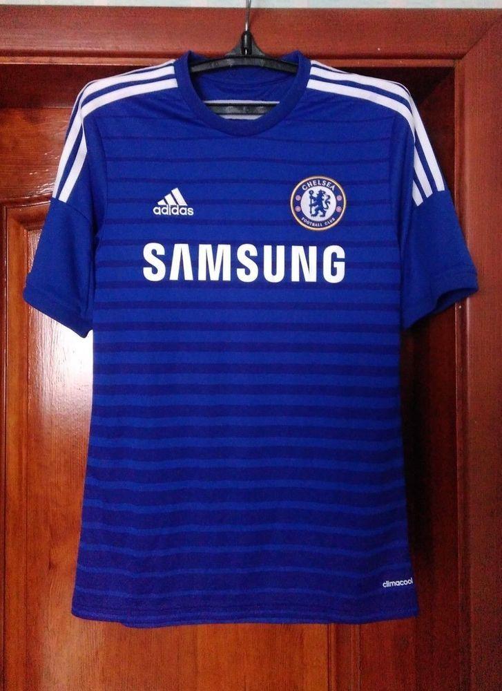 meet 514ff 4ce94 Chelsea London 2014 - 2015 home football shirt jersey Adidas ...