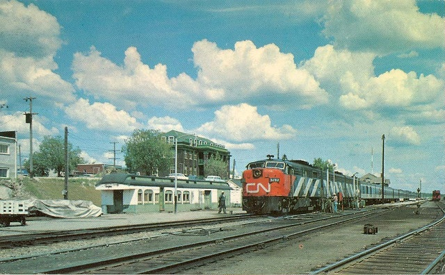 Canadian National's Super Continental, Sioux Lookout, Ontario by Wrecksdale Wreck, via Flickr