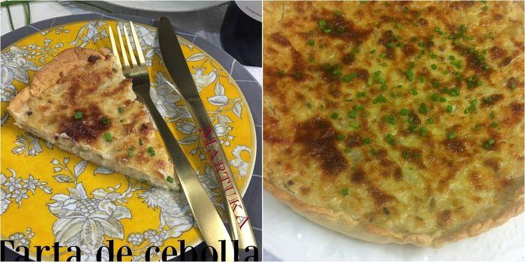 Tarta De Cebolla Dulce Y Nueces (Sin Huevo) | Cocina