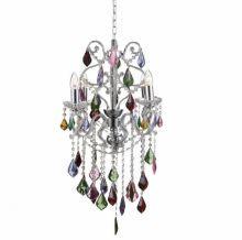 Kolorowy kryształ - lampa wisząca -www.koma.lux.pl