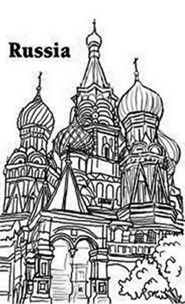free coloring pages and russia - photo#25