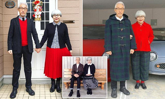Meet the Japanese couple who wear matching outfits EVERY day