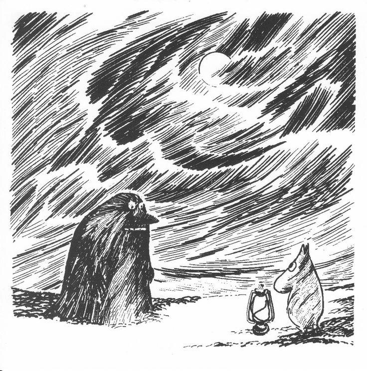 moomins - The Groke