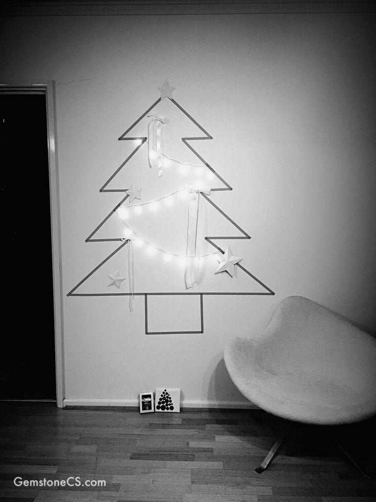 2014. My washi tape Christmas tree. Nailed it!