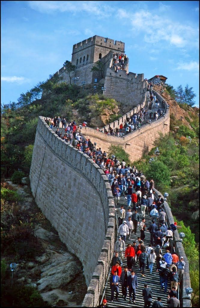 Great Wall of China - Gran Muralla - the World's largest military structure