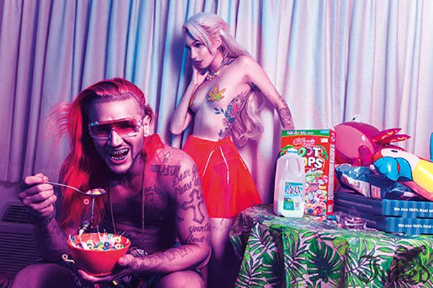 Want insight into Riff Raff? We spent more than six seconds with him. #InkedMagazine #interview #article #Music #rapper #humor #funny #RiffRaff