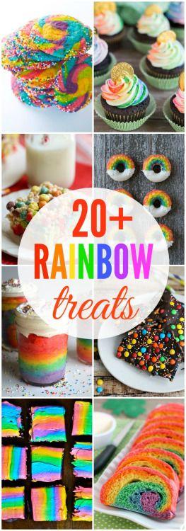 20 Rainbow Treats Really nice recipes. Every hour. Show me what Mein Blog: Alles rund um die Themen Genuss & Geschmack Kochen Backen Braten Vorspeisen Hauptgerichte und Desserts