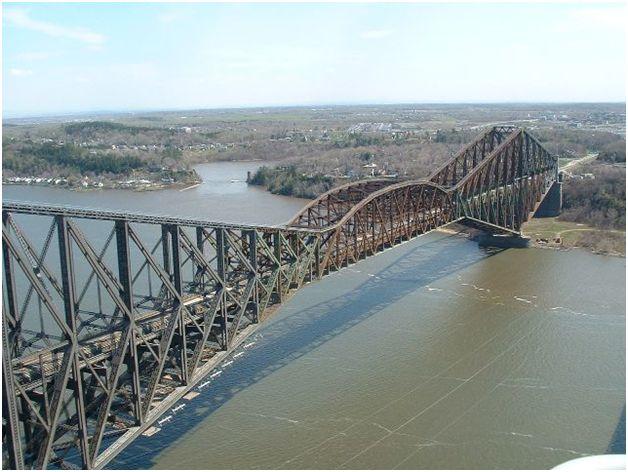 Quebec Bridge-Quebec City, Canada
