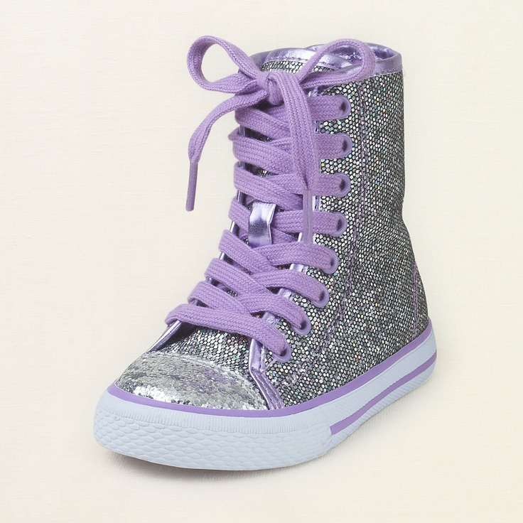 baby girl - shoes - shine hodgepodge hi-top | Children's Clothing | Kids Clothes | The Children's Place