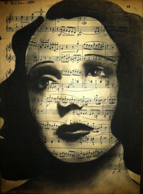 ☆ Edith Piaf :¦: Artist Rebecca Miller ☆