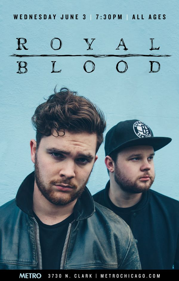 Enter for a chance to win a pair of tickets to see Royal Blood at their sold out show at The Metro in Chicago, on June 23rd, on DigitalTourBus.com!