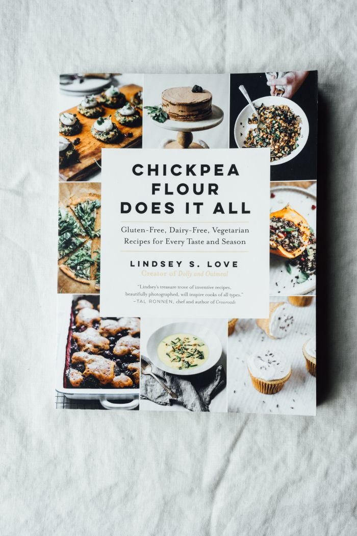 Lindsey's Chickpea Pizza with Asparagus and Pea Shoot Tangle | TENDING the TABLE #vegan #glutenfree #recipes