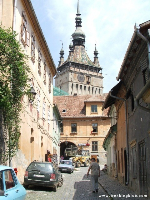 The Clock Tower - #Sighisoara, #Transylvania.