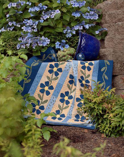 ~ Martingale - Fast, Fusible Flower Quilts (Print version + eBook bundle)