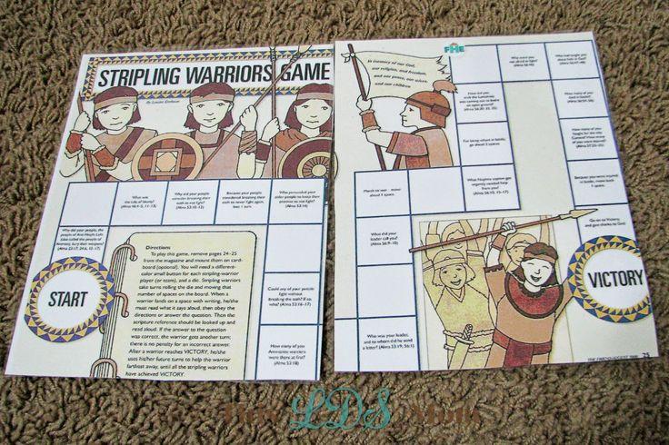 This LDS Mom: Scripture Heroes: Stripling Warriors