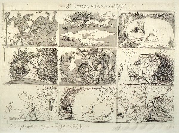 « Picasso a (eu) 100 ans » en 1981 - Philippe Sollers/Pileface