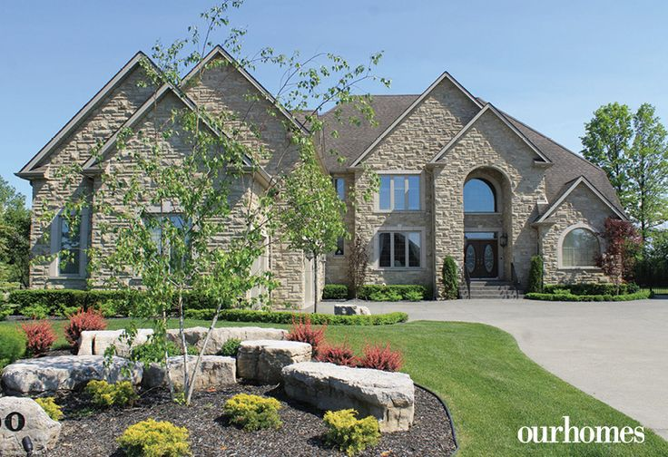 The home has immense curb appeal and has an impressive 7,000 square feet of space in the main house, with an additional 1,200 square foot pool house.    http://www.ourhomes.ca/articles/build/article/a-place-where-family-comes-first